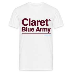 Claret & Blue Army - Men's T-Shirt