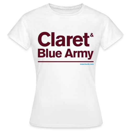 Claret & Blue Army - Women's T-Shirt