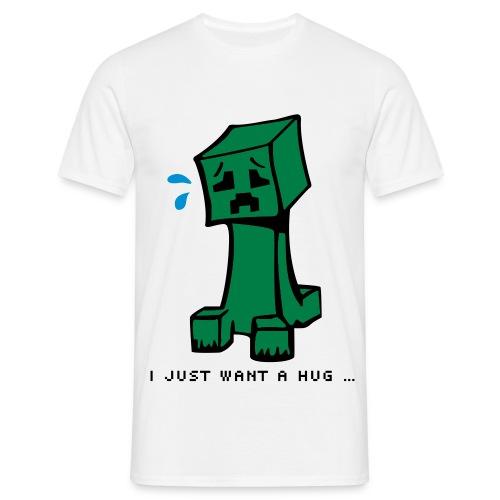 Creepers need hugs! - Men's T-Shirt