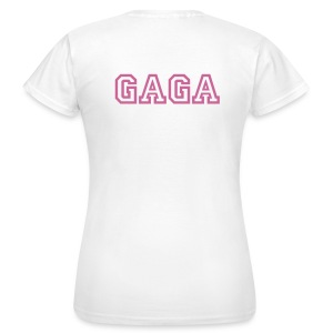 GAGA Glitter Back and Front - Women's T-Shirt