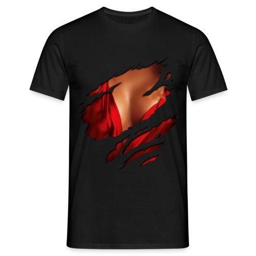 die inneren Werte ;) - Männer T-Shirt
