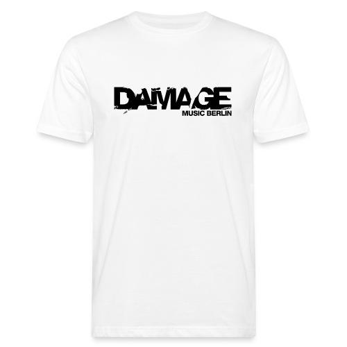 Damage Label Logo Shirt Men - Men's Organic T-shirt