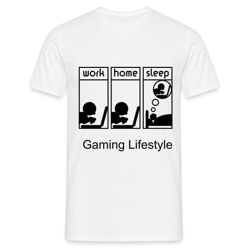 Life Of A Gamer T-Shirt - Men's T-Shirt