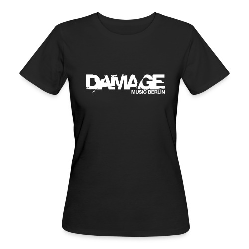 Damage Label Logo Shirt Girls - Women's Organic T-shirt