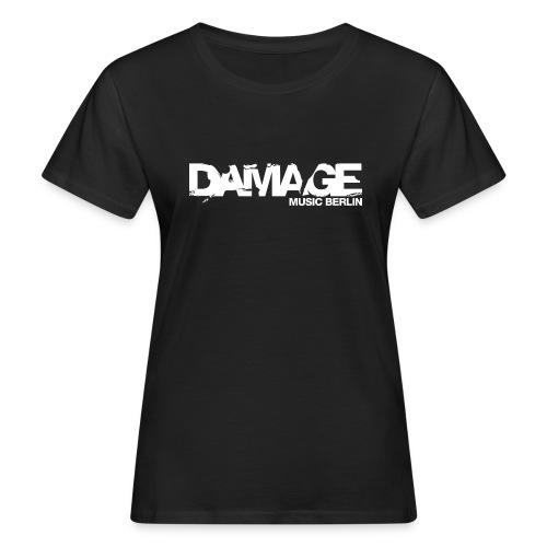 Damage Label Logo Shirt Girls Deluxe - Women's Organic T-shirt