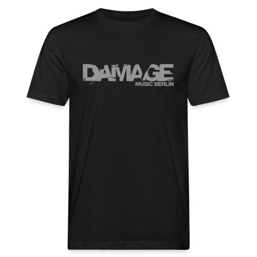 Damage Label Logo Shirt Men Deluxe - Men's Organic T-shirt
