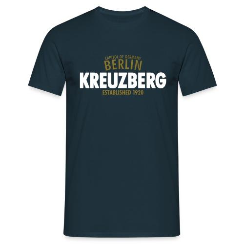 Capitol Of Germany Berlin - Kreuzberg Established 1920 - Männer T-Shirt