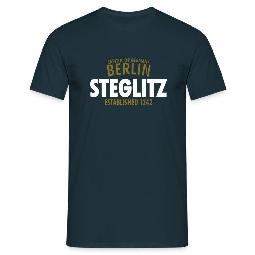 Capitol Of Germany Berlin - Steglitz Established 1242 - Männer T-Shirt