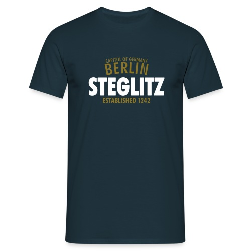 Capitol Of Germany Berlin - Steglitz Established 1242 - Männer T-Shirt
