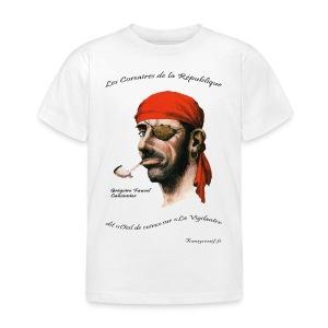 T-SHIRT standard enfant grégoire fauve ba - T-shirt Enfant