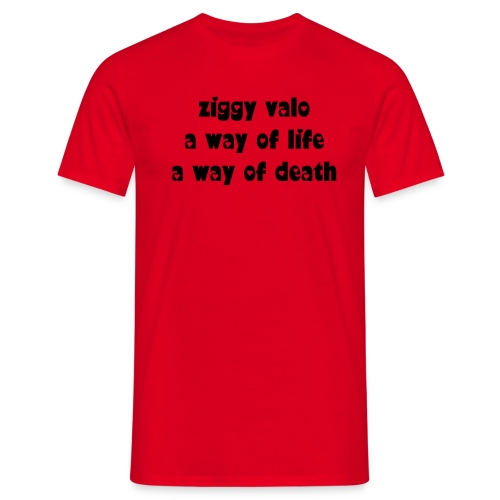 ziggy valo t-shirt - Men's T-Shirt