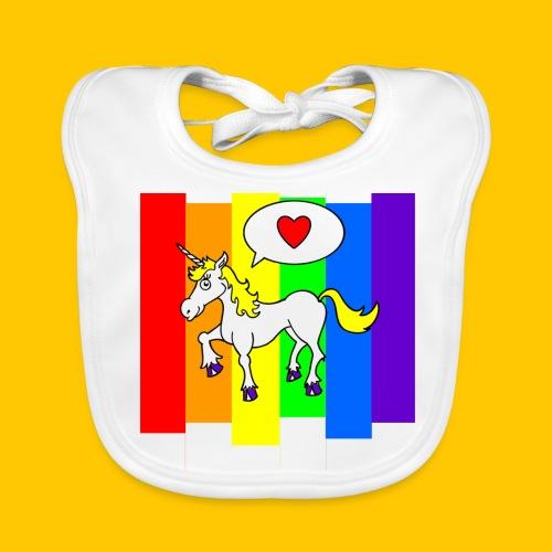 Unicorny - Baby Organic Bib