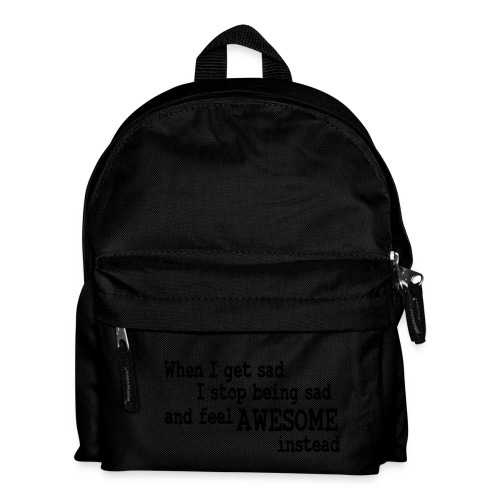 When i get sad Bag Light Blue. - Kids' Backpack