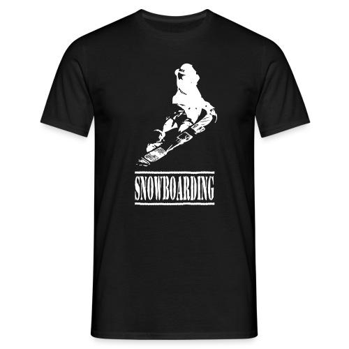 Snowboarding - T-Shirt - Männer T-Shirt