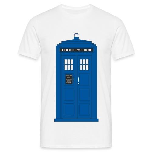Police Call Box - Men's T-Shirt