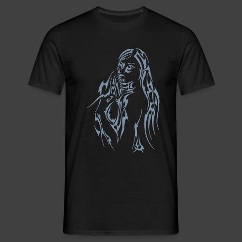 Tribalstyle silber - Männer T-Shirt
