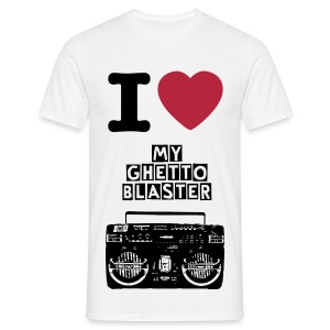 Ghetto Blaster - T-shirt Homme