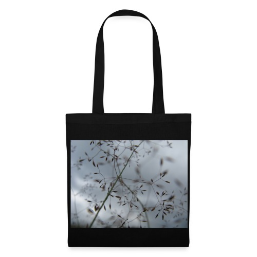 Grassamen und Himmel Tasche - Stoffbeutel