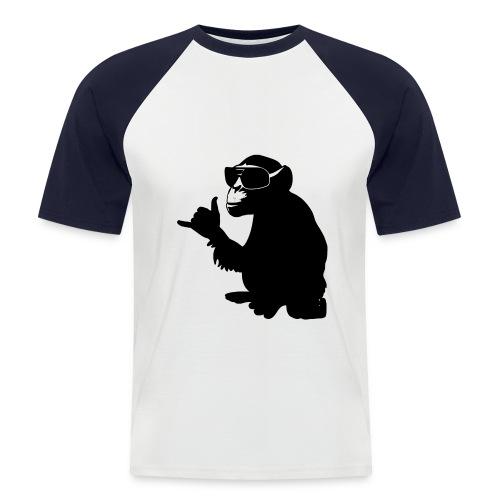 Cooles Affen-Shirt - Männer Baseball-T-Shirt