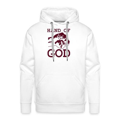 jesus love me - Sweat-shirt à capuche Premium pour hommes