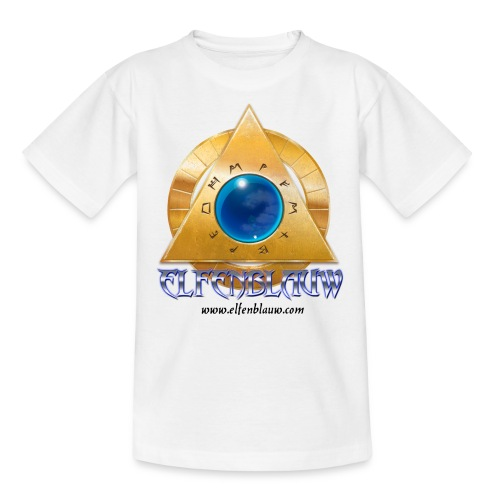 T-shirt Elfenblauw Silnaris (9-14 jaar) - Teenager T-shirt