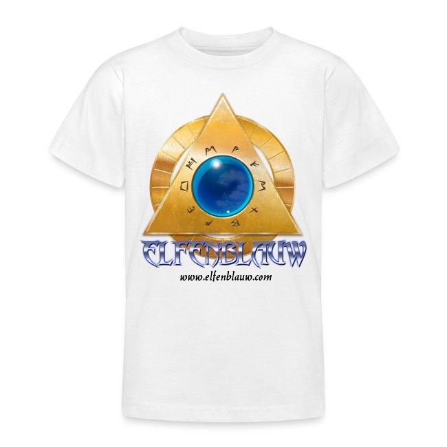 """T-shirt Elfenblauw """"Silnaris"""" (9-14 jaar)"""