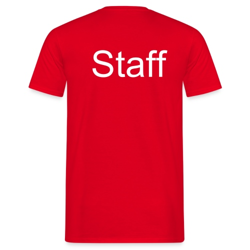 t shirt ''staff'' - Mannen T-shirt