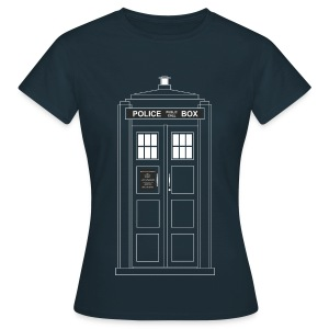 Police Call Box - Women's T-Shirt