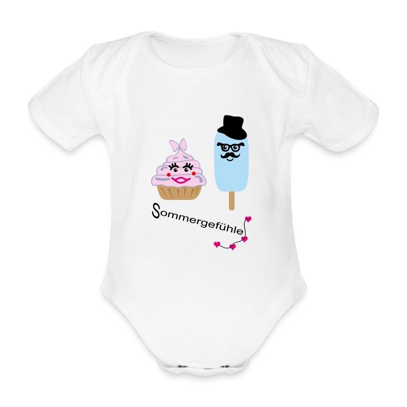 Sommergefühle - Baby Bio-Kurzarm-Body