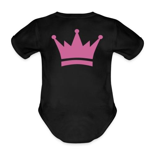 Mama's kleine Prinzessin - Baby Bio-Kurzarm-Body