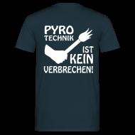 T-Shirts ~ Männer T-Shirt ~ Karlsruhe, Pyrotechnik