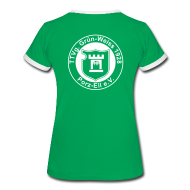 T-Shirts ~ Frauen Kontrast-T-Shirt ~ Damen Shirt 3