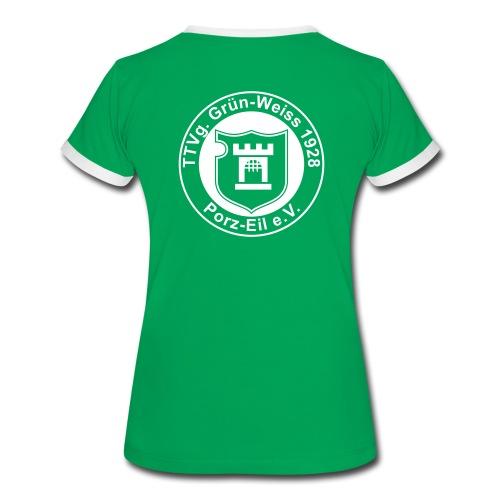 Damen Shirt 3 - Frauen Kontrast-T-Shirt