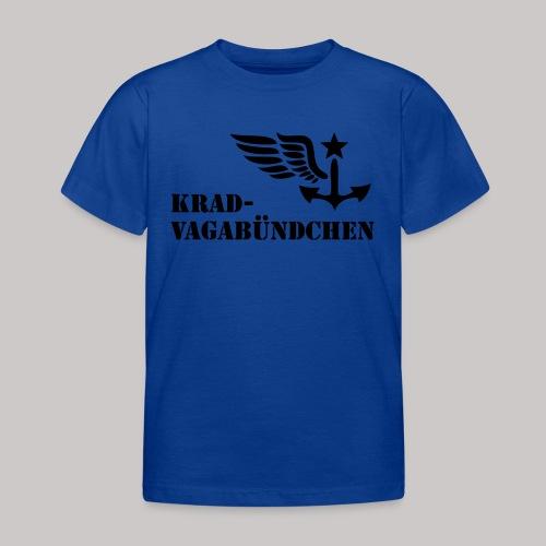 KRAD-VAGABÜNDCHEN - Kinder-T-Shrit (Aufdruck schwarz) - Kinder T-Shirt