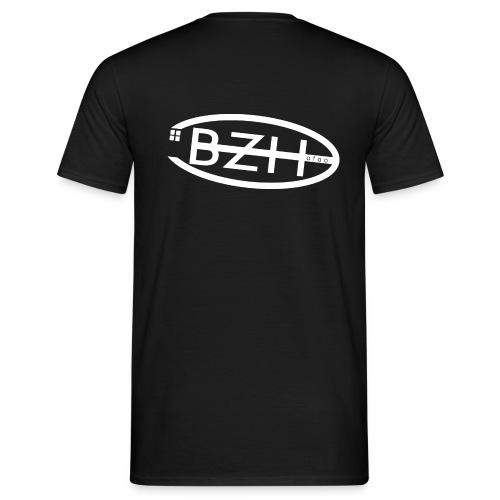 tee shirt noir basic h1 - T-shirt Homme