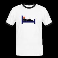 T-Shirts ~ Männer Kontrast-T-Shirt ~ Sexgott Erotik-Shirt