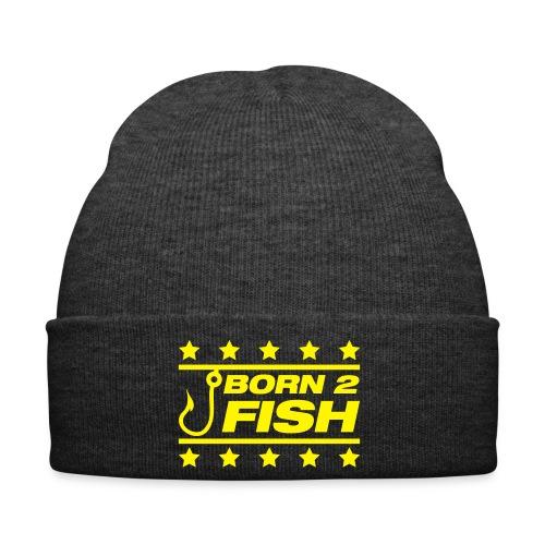 born 2 fish beanie - Winter Hat