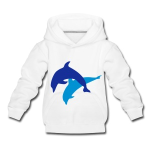 Kid's Dolphin tee - Kids' Premium Hoodie