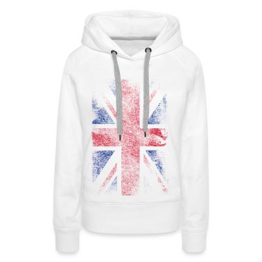 union jack - used look Hoodies & Sweatshirts