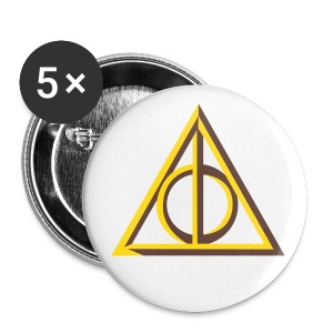 Deathly Hallows badge - large - Buttons large 56 mm