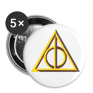 Deathly Hallows badge - Buttons small 25 mm
