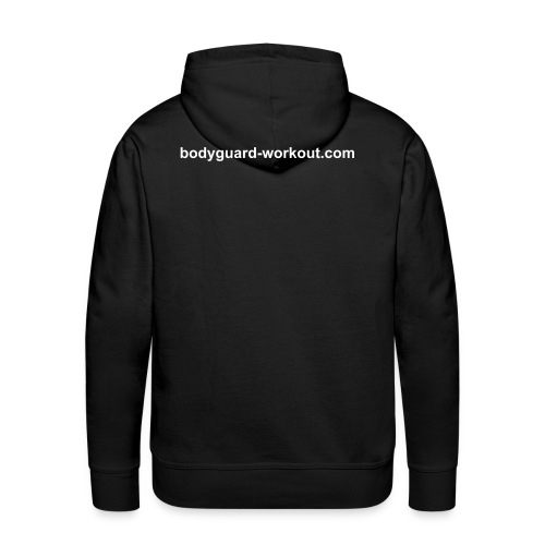 sweatshirt + backprint - Men's Premium Hoodie