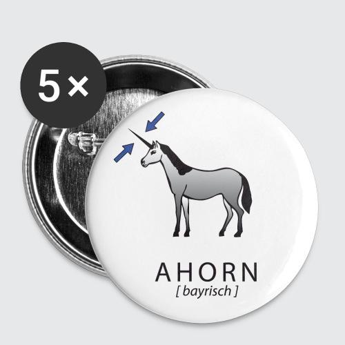 ahorn - Buttons groß 56 mm