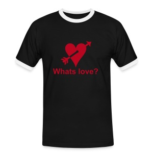 Whats love? - Men's Ringer Shirt