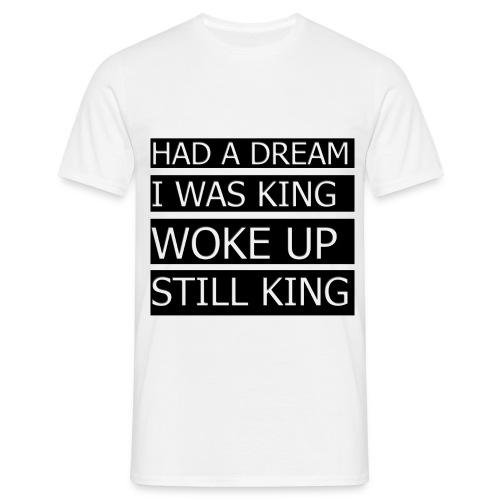 T-Shirt med citat - Herre-T-shirt