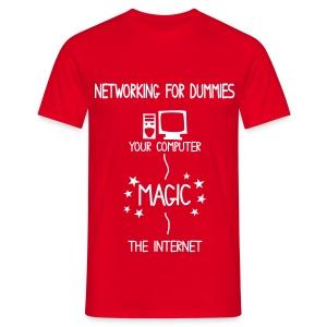 Tech Teams Commical Uniform - Men's T-Shirt