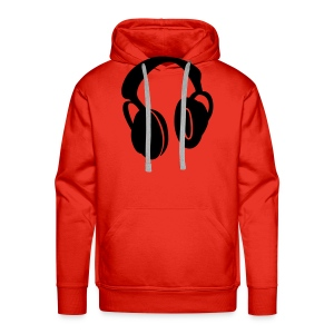 headphone hoody - Men's Premium Hoodie