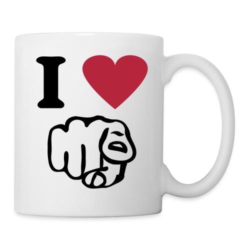 tasse d' hamoureux  - Mug blanc