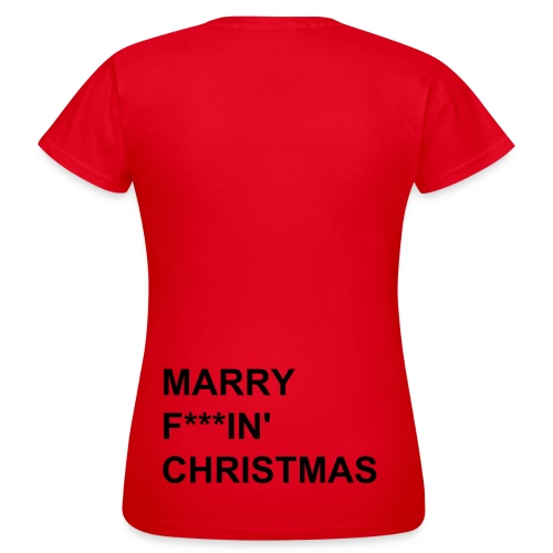 This is a x-mas tee DAM - T-shirt dam
