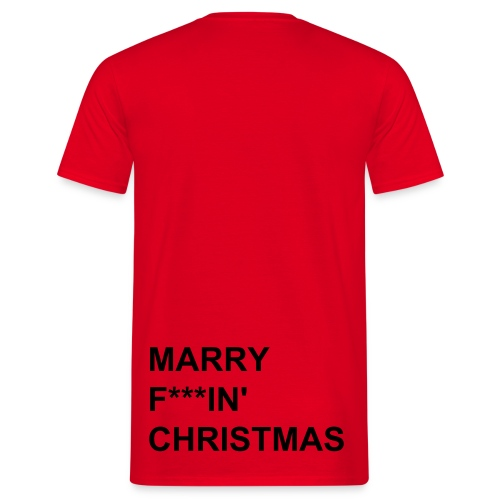 This is a x-mas tee HERR - T-shirt herr